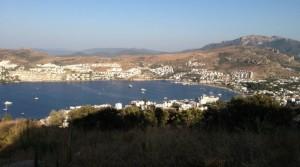 Bodrum Gündoğan'da Deniz Manzaralı,İmarlı Arsa