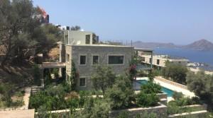 Yalıkavak Gerişte Muhteşem Manzaralı Müstakil Havuzlu Villa