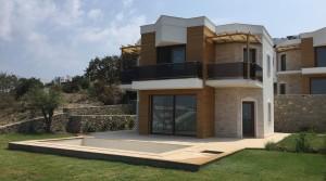 Yalıkavakta Havuzlu,Bahçeli Deniz Manzaralı Dublex Özel Villa