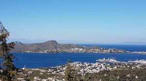 Yalıkavakta Deniz Ve Marina Manzaralı Kiralık Dublex Villa