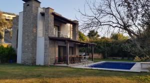 Yalıkavak Merkezde Doğa-Deniz Manzaralı Dublex Villa