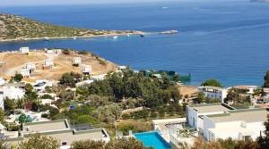 Gümüşlük Koyunbabada Muhteşem Manzaralı Triplex Villa