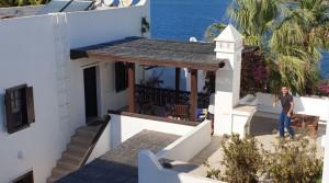 Yalıkavak Tilkicikte Denize Sıfır Site Manzaralı Dublex Villa